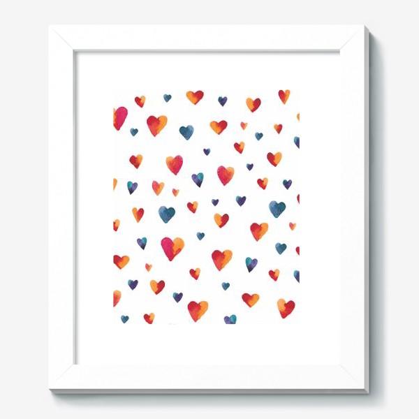 Картина «Сердечки»