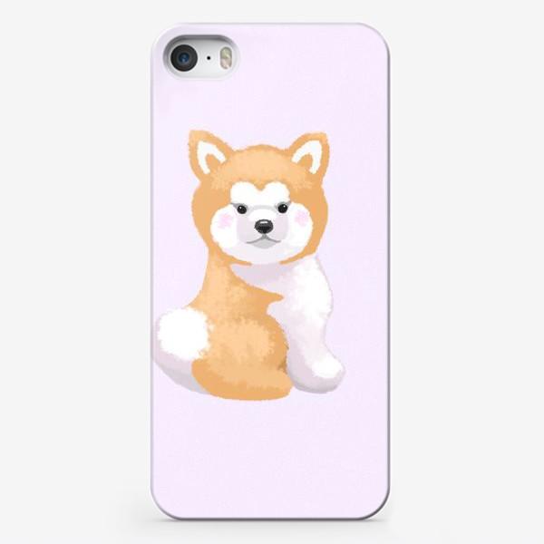 Чехол iPhone «Пушистый пес»