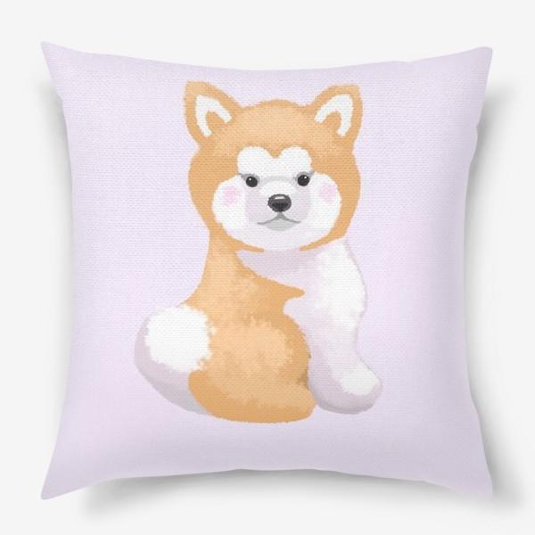 Подушка «Пушистый пес»