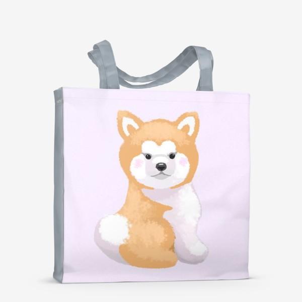 Сумка-шоппер «Пушистый пес»