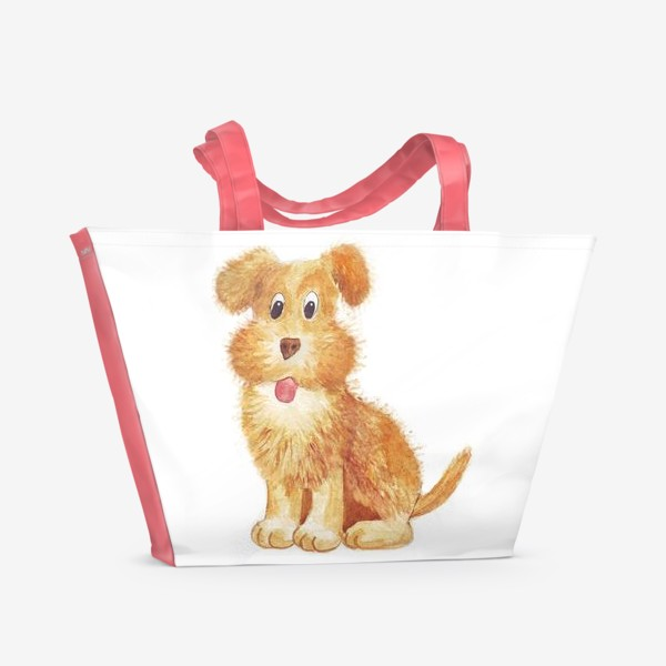 Пляжная сумка «собака»