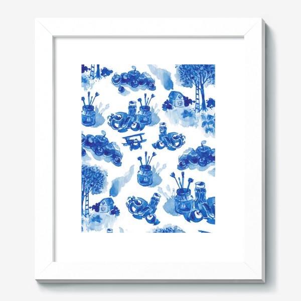 Картина «Лето в синих тонах»