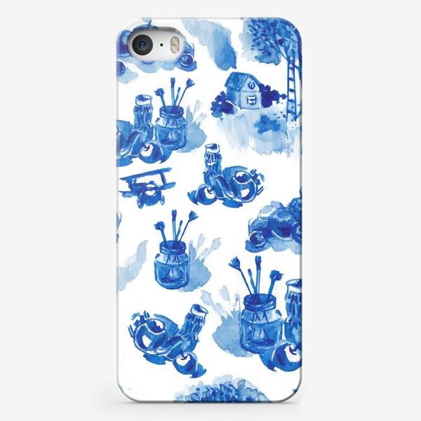 Чехол iPhone «Лето в синих тонах»