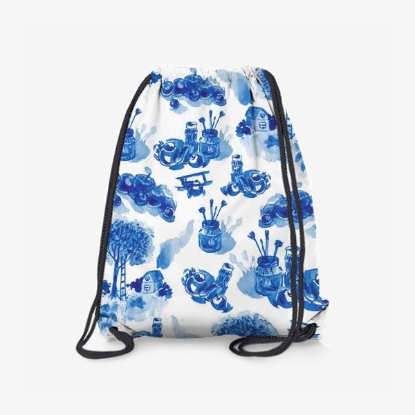 Рюкзак «Лето в синих тонах»