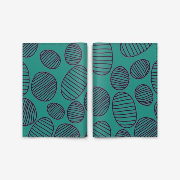 Обложка для паспорта «геометрический паттерн»