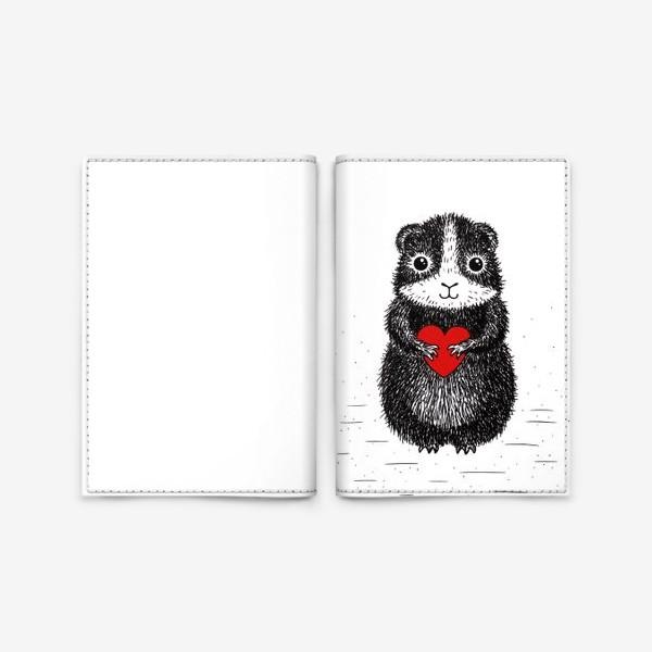 Обложка для паспорта «Морская свинка»