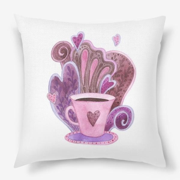 Подушка «Чашка»