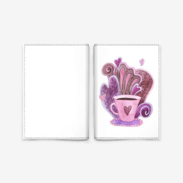 Обложка для паспорта «Чашка»