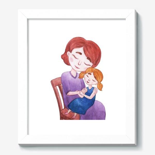 Картина «Мама с дочкой»