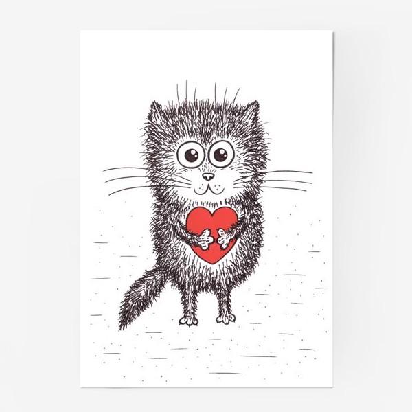 Постер «Котенок»