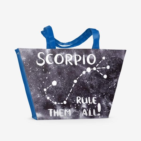 Пляжная сумка «Созвездие Scorpio»