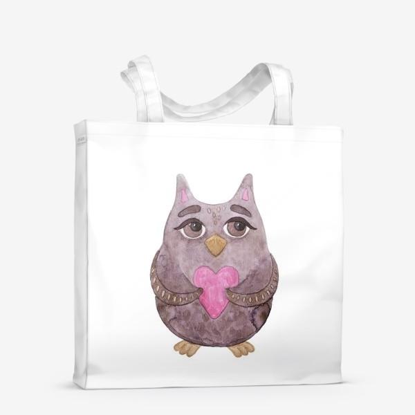 Сумка-шоппер «Совушка»