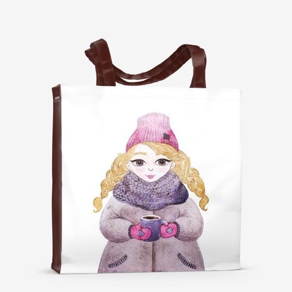 Сумка-шоппер «Девочка»