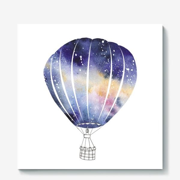 Холст «Космический Воздушный Шар»