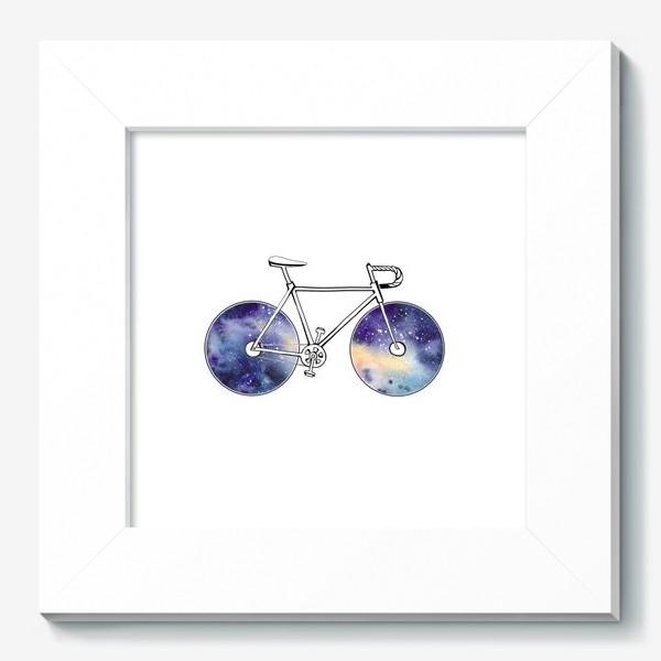 Картина «Космический Велосипед»