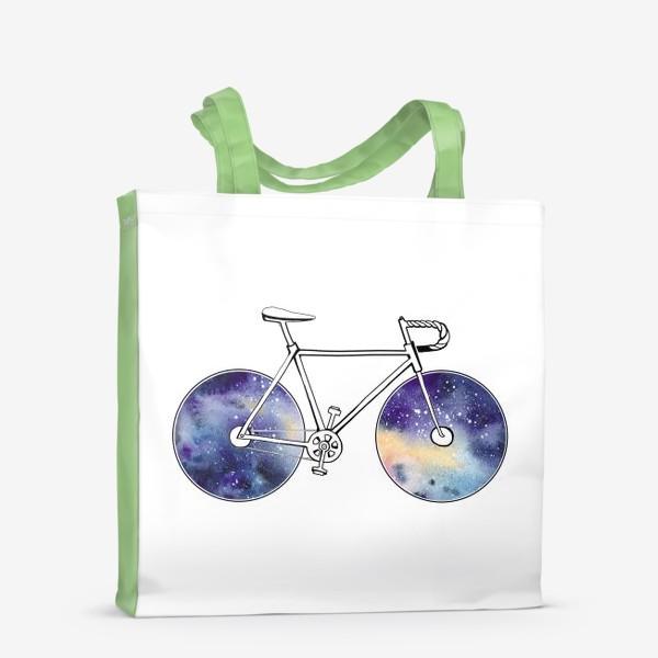 Сумка-шоппер «Космический Велосипед»