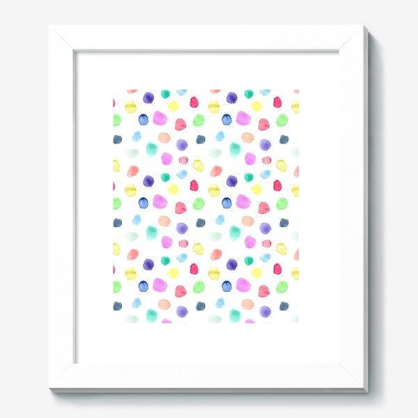 Картина «Акварельные конфетти»