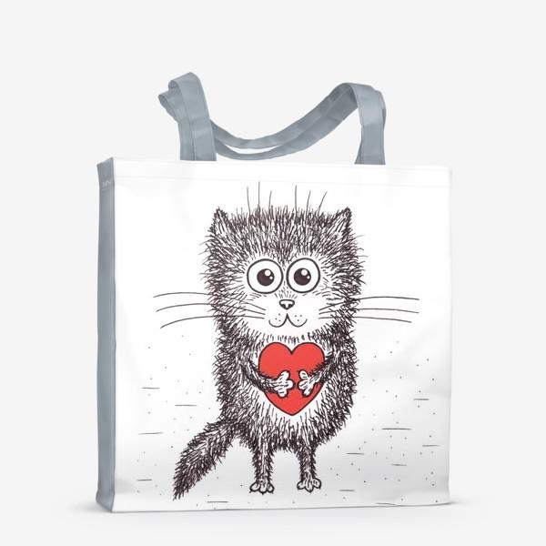 Сумка-шоппер «Котенок»