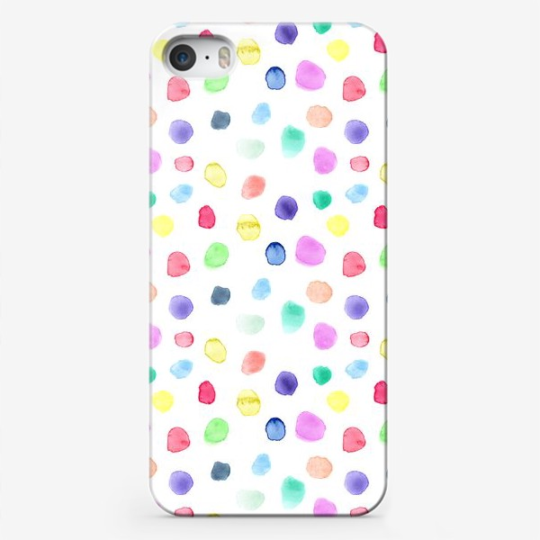 Чехол iPhone «Акварельные конфетти»