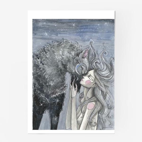 Постер «Волк»