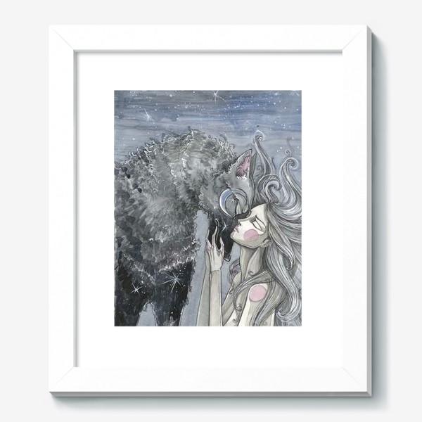 Картина «Волк»