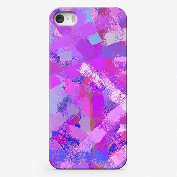 Чехол iPhone «мазки кистью»