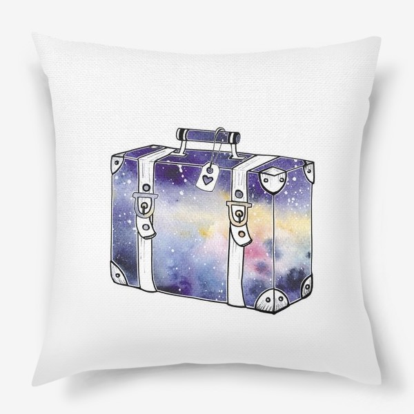 Подушка «Космический Чемодан»