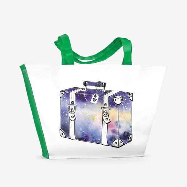 Пляжная сумка «Космический Чемодан»