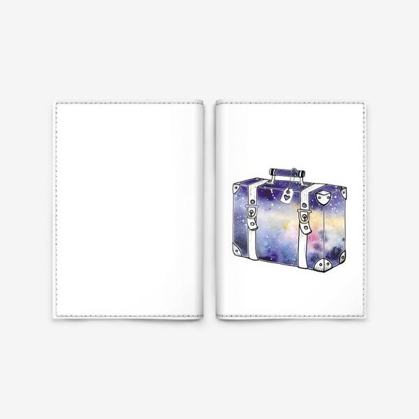 Обложка для паспорта «Космический Чемодан»