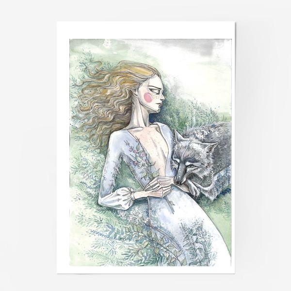 Постер «С волком»