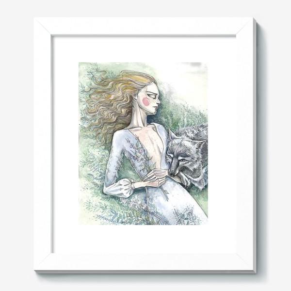 Картина «С волком»