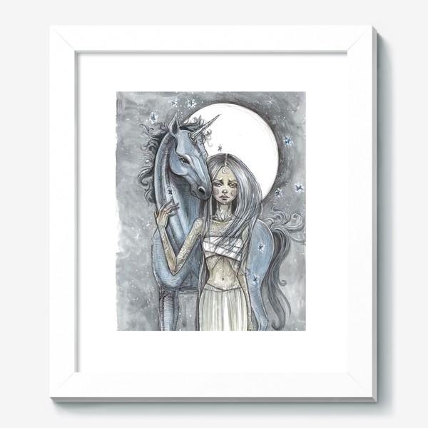Картина «Единорог»