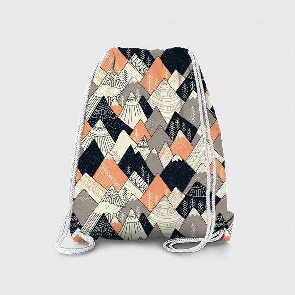 Рюкзак «горы в скандинавском стиле»