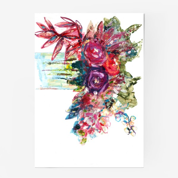 Постер «Цветочная фантазия»