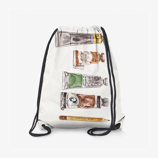 Рюкзак «Масло и карандаш»