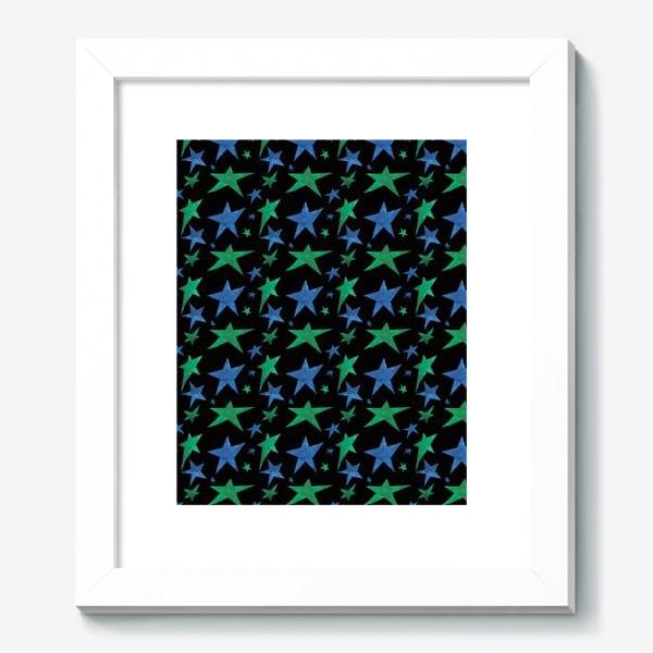 Картина «Паттерн звездное зимнее небо»