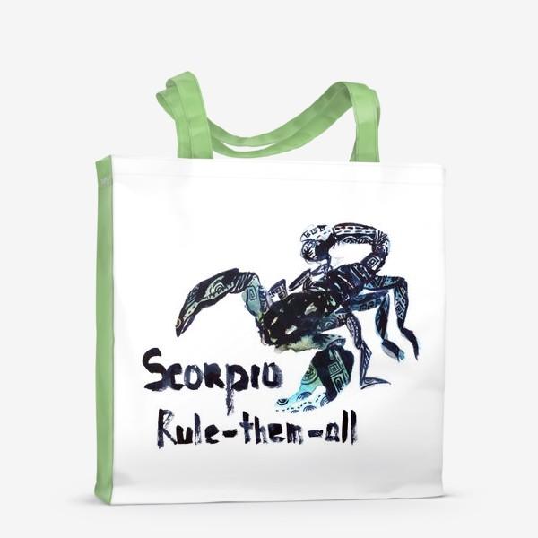 Сумка-шоппер «Скорпион. Rule-them-all»