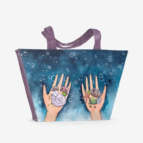 Пляжная сумка «Море В Руках»