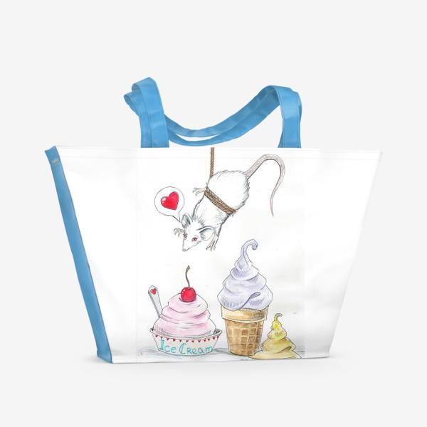 Пляжная сумка «Cakes»
