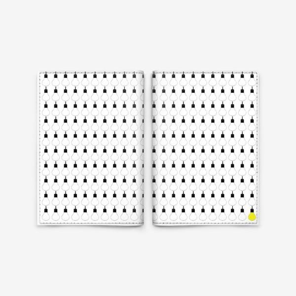 Обложка для паспорта «лампы»
