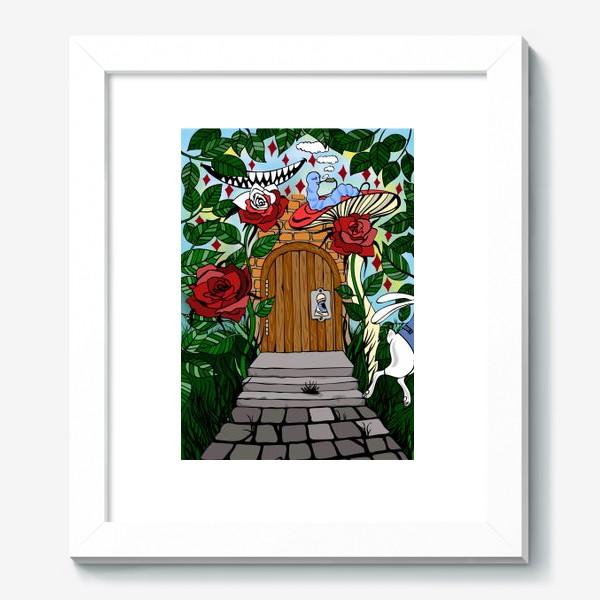 Картина «Дверь в страну Чудес»