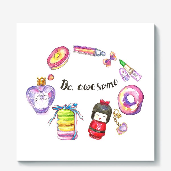 Холст «Be awesome»