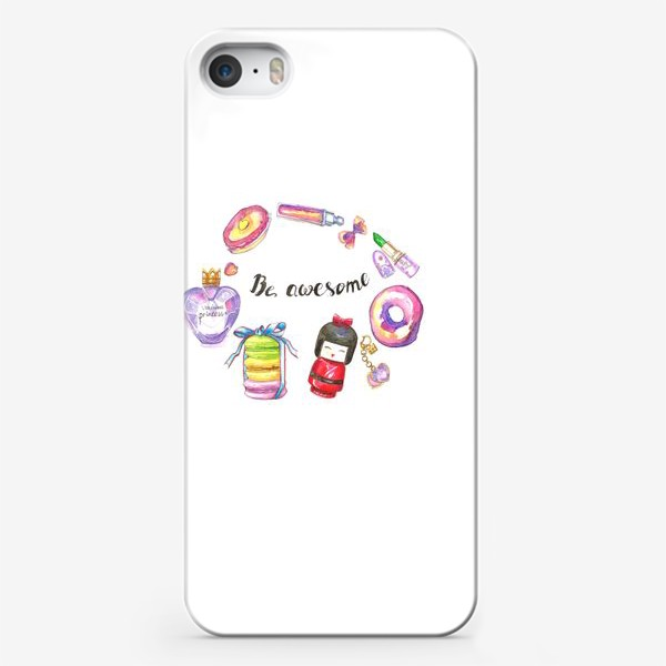 Чехол iPhone «Be awesome»