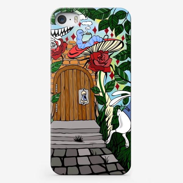Чехол iPhone «Дверь в страну Чудес»