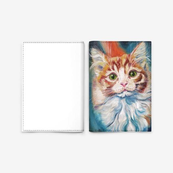Обложка для паспорта «Котенок »