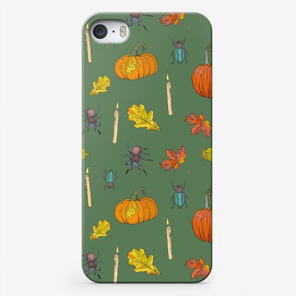 Чехол iPhone «Хэллоуин паттерн»
