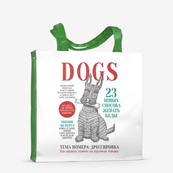 Сумка-шоппер «DOGS»