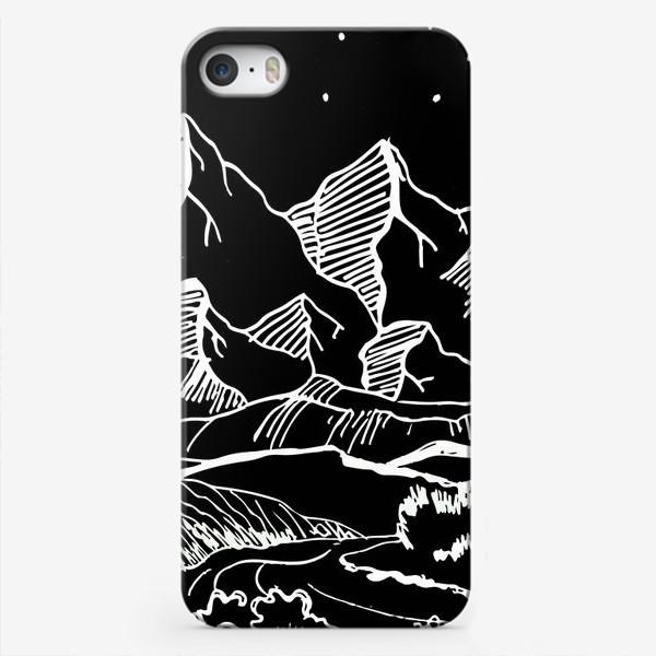 Чехол iPhone «Белые горы»