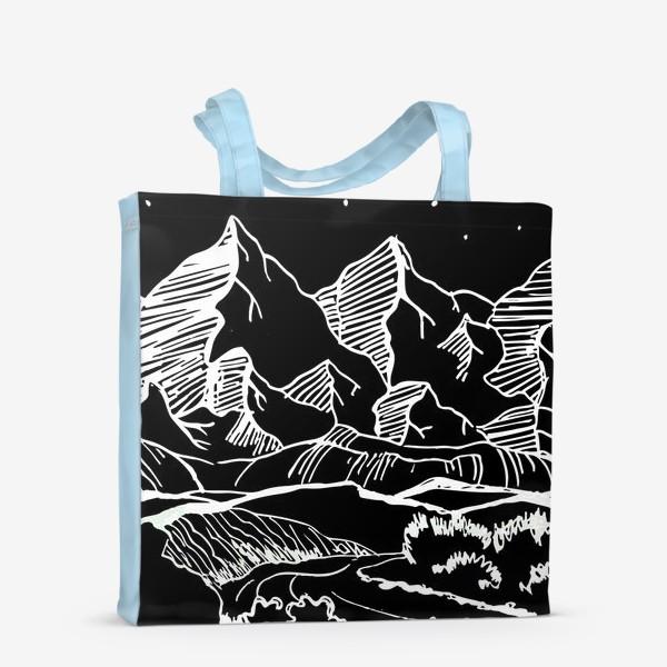 Сумка-шоппер «Белые горы»