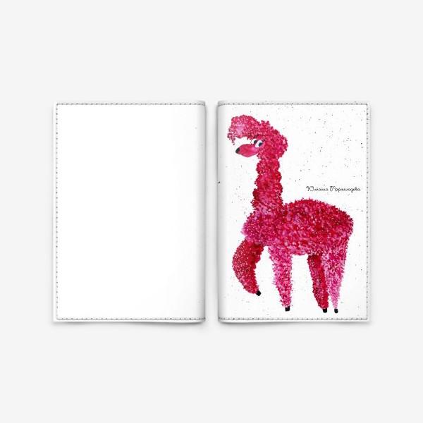 Обложка для паспорта «Альпака»